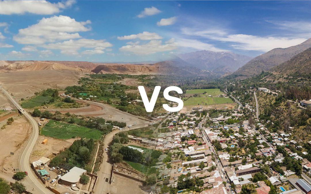 Las increíbles similitudes entre San Pedro de Atacama y el Cajón del Maipo