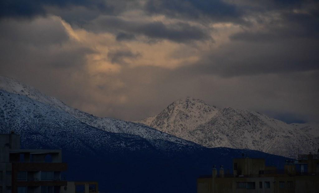 Cordillera después de la lluvia