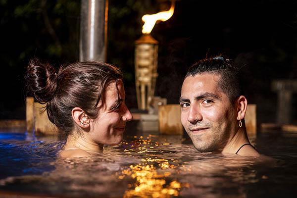 Relajación en Tinajas Calientes Cajón del Maipo