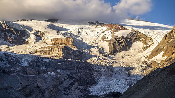 Atractivos Glaciar Nieves Negras